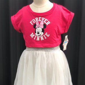 BNWT Disney Forever Minnie Mesh T-Shirt dress
